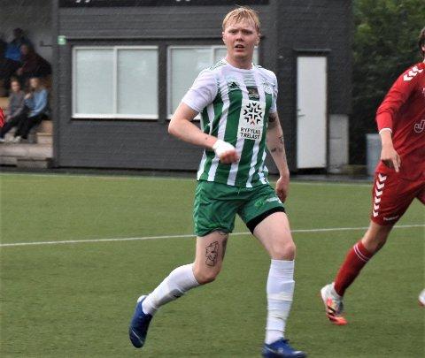 BEST: Ola Kvindesland var MILs beste i årets første seriekamp. MIL slo Paradis 1-0 i Stavanger før helga.. Bildet er fra forrige kamp på Tau stadion.