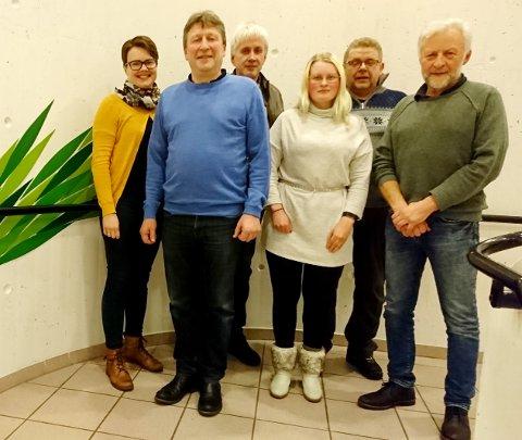 Noen av de øverste kandidatene på møtet denne uka: Fra venstre Oddveig Gikling-Bjørnå, Jørgen Inge Singsdal, Halvard G. Hagen, Gunn Marit Musgjerd, Kåre Langseth og Einar Mo.