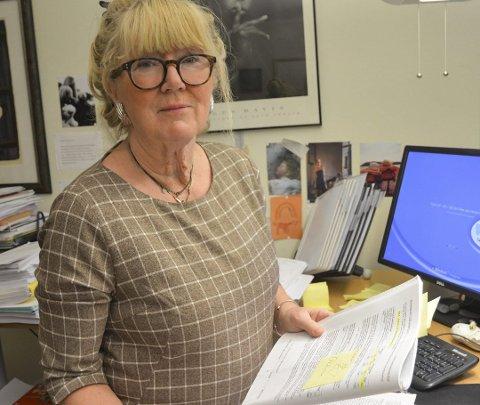 Rektorene står fritt: Enhetsleder Elisabet Christiansen ønsker ikke å begrense talerett eller ytringsfrihet blant rektorene i Tvedestrand.