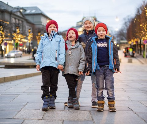 Tormod Strætkvern (2013), Trym Strætkvern (2015), Sanne Skår (2013) og Sivert Skår (2014), Askøy