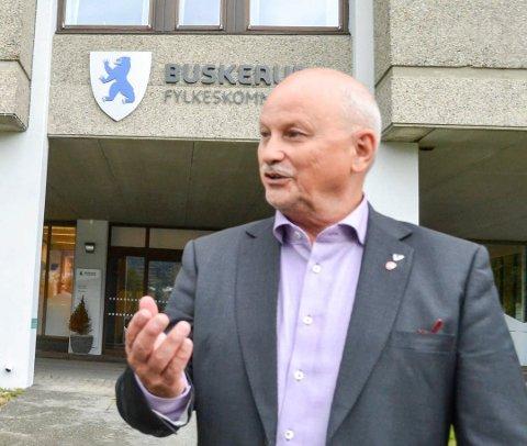FORNØYD: – Dette er et rekordutbytte, sier fylkesordfører Roger Ryberg.