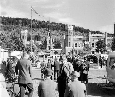 Folket sa Nei:: 9.349 stemte for bevaring, mens 2.608 for riving under folkeavstemningen for 53 år siden. Foto: Reidar Halden.