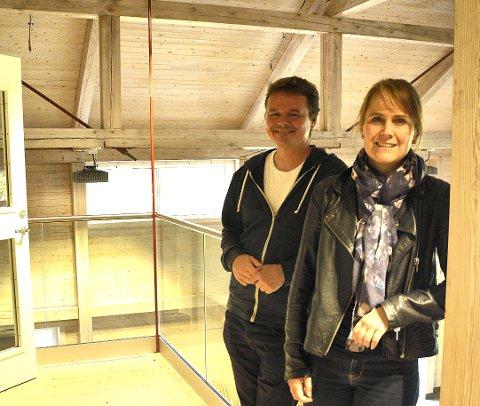PAR I MUSIKK: Tor Ingar Jakobsen og Karin Fristad.