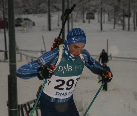 7. PLASS: Anders Sønsteby Flaagen ble nummer sju på normaldistansen på Lygna.
