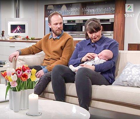 Tomas Glans og Anne Aarrestad er venner som har valgt å bli foreldre sammen. I februar kom datteren Hedvig, og de fortalte sin historie på God morgen, Norge på TV2.