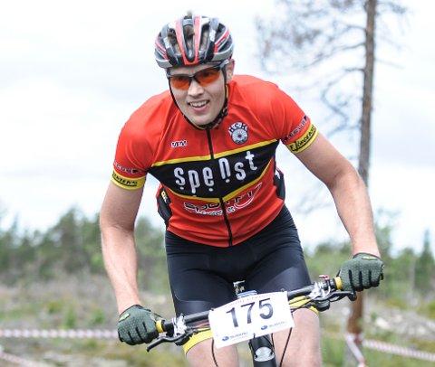 Frode Bokerød tråkket inn til tredjeplass i Stenhoggerrittet lørdag.