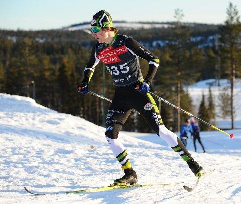 TRENER BRA: Johan Unneberg synes det er stusselig å være langrennsløper når det er vanskelig å få meldt seg på skirenn.