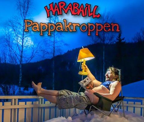 PAPPAKROPP: Pål Blikset har tatt bildet til coveret, mens grafikken er det Paul Egil Henriksen som har stått for.