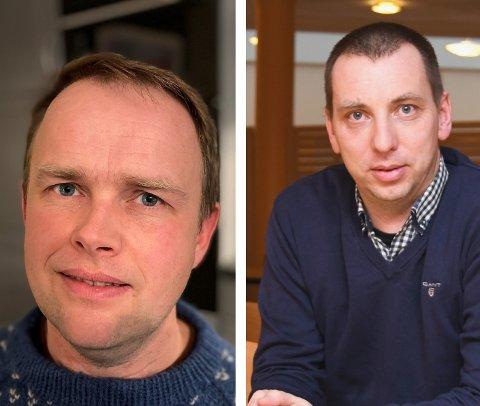 Øyvind Utne og Torstein Aarthun er blant dei fem som vil bli ny kyrkjeverje i Kvinnherad. (Arkivfoto).