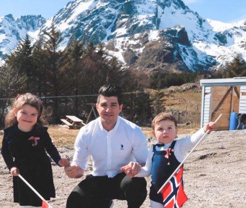 Småbarnsfaren Zafer Akbas blir restaurantsjef på Himmel og havn på Ballstad.