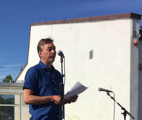 ÅPNET BYDELSDAGENE: Bjørn Strøm, nestleder i Østensjø bydelsutvalg, fikk æren av å åpne årets bydelsdager.