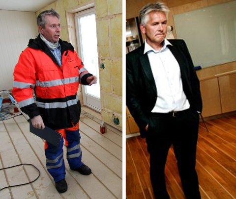 MØTTES I RETTEN: Bjørn Bergli og Oddbjørn Schei.