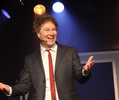 OPTIMIST: Gustav Nilsen har fått en av hovedrollene i musikalen Optimist, som har premiére neste høst.