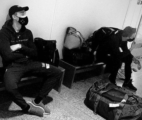 REISE: Vetle trodde alt var i orden da han skulle sjekke inn på flyplassen. Så fikk han seg en overraskelse.