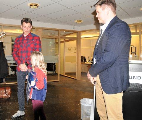 Store og små i Larvik Ski gleder seg å få ny snøkanon, som gaven SpareBank 1 Stiftelen BV nå gjør mulig.