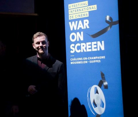 NY FESTIVALSJEF: Øystein Egge er ny daglig leder for filmfestivalen Movies on War i Elverum. (Foto: Privat)