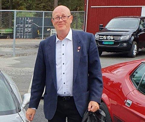 NY LEDER: Trond Carell Nyhus er nyvalgt leder av Ringerike Frp.