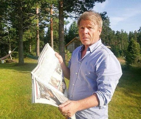 MOBBESAKEN: Redaktør Jan Magne Stensrud i Drangedalsposten avslørte mobbesaken, som kan bli landets største mobbesak.