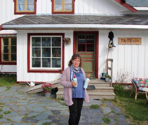 Skremmende: Elisabeth Kværne forteller at de først fikk beskjed om å pakke sammen og evakuere hjemmet på Hjelle i Aurdal.