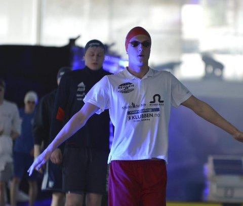 Nikolai Sørebø imponerte under  Bergen Swim Festival.