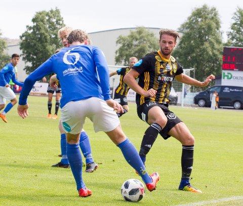 TILBAKE I TROPPEN: Sondre Norheim er tilbake i gult og svart og spiller ut 2020-sesongen.