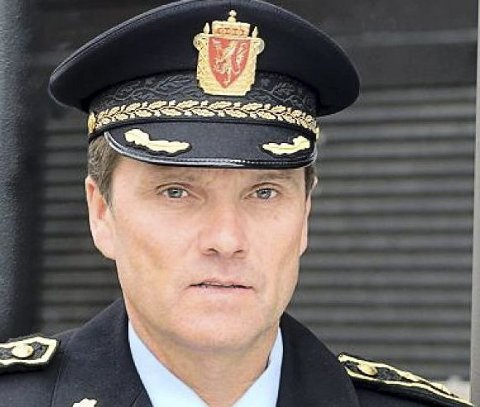 POLITISJEF: Øyvind Aas. FOTO: POLITIET