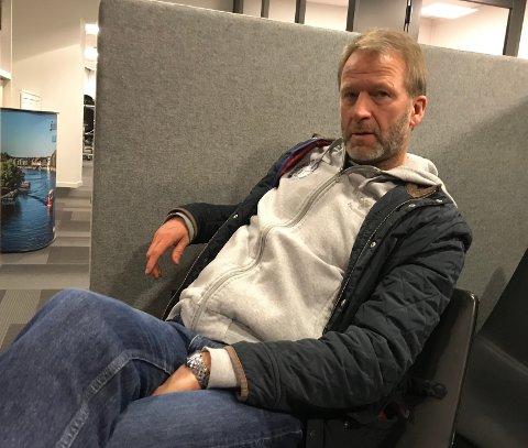 TUNG TID: Rune Gulliksen innrømmer at det har vært en tung tid i Stjernen, men at han likevel ser fremover.