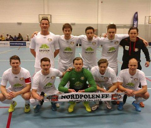 Ned fra toppen: Nordpolen FF ligger nå på 2.-plass.