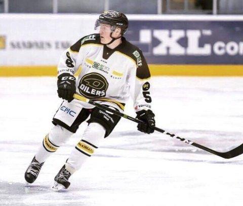 TILBAKE I NARVIK: Jørgen Kvål kommer tilbake til Nordkraft Arena, nå med den hvite og svarte bortedrakten til Oilers på seg, og ikke den blå hjemmedrakten til Narvik Hockey.