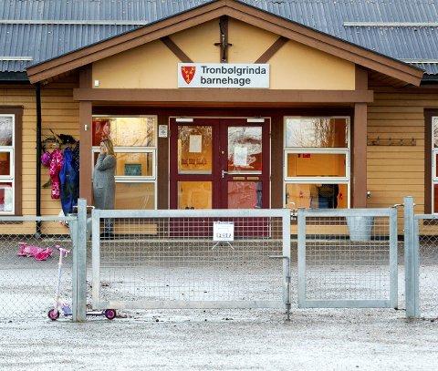 Nedlegges: Avvikling av Tronbølgrinda betyr 36 færre barnehageplasser i kommunesenteret.