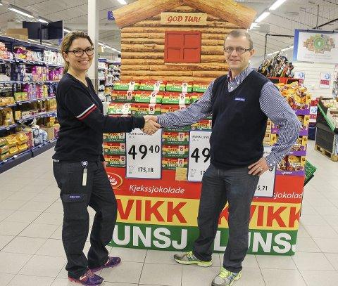 ROLLEBYTTE: I 2015 var det Nina Merete Thorsrud som tok over for Hans Olav Sørumshagen. Nå søker Rema 1000 hennes etterfølger.