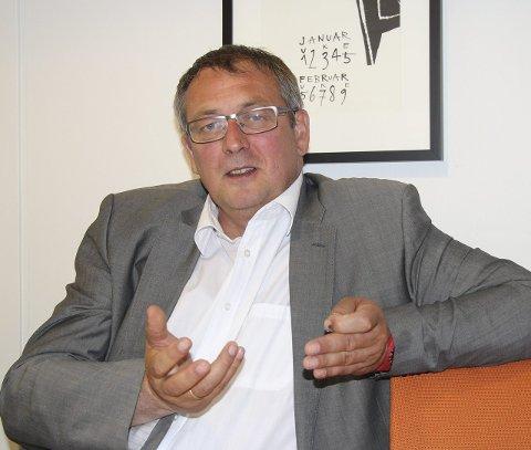 2022: Styreleder Bjørn Oddvar Madsen i Karmøynytt ser lys i sikte framover for lokalavisen. I 2020 gikk det ikke så bra.
