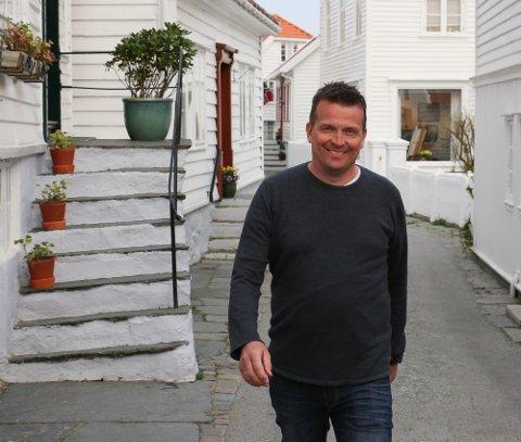 BRED STØTTE: Alf Magne Grindhaug fra Skudeneshavn kan havne på Stortinget neste periode.