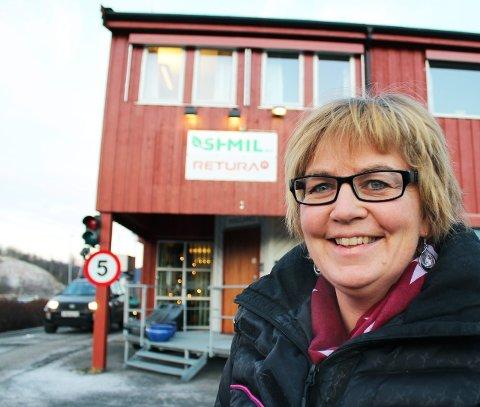 TVANG: Markedssjef i SHMIL, Toril Forsmo ser ikke bort fra at gjeninnføringen av tvungen fritidsrenovasjon vil by på utfordringer. Foto: Snorre Sjøvoll