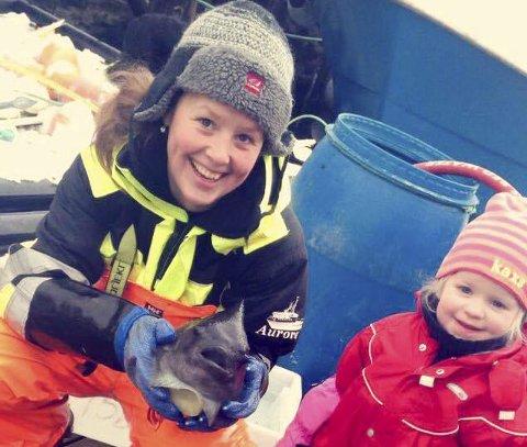 INITATIVTAKER: Trude Caroline Halvorsen samler sine kvinnelige fiskerkollegaer i Alta 29. og 30. mai. Foto: Privat