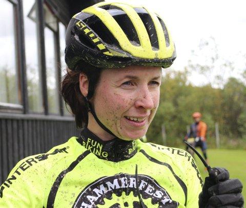 VANT: Karoline Seppola Brøndbo, Hammerfest sykkelklubb, var raskeste kvinne under Bingesrittet 2018.