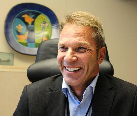 FORMELT VALGT: Johnny Løcka er direktør Kongsberg Næringspark og ny styreleder i Kongsberg kommunale eiendom (KKE).