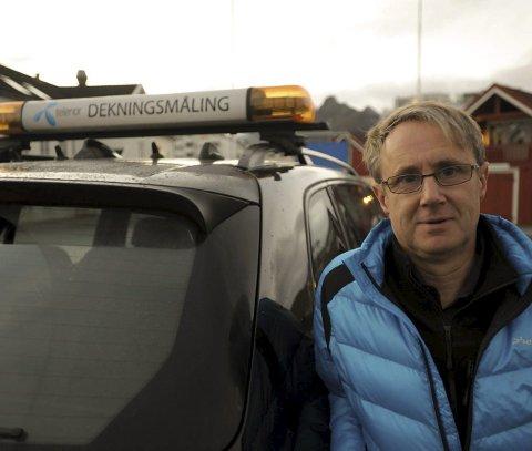 Bedre 4G: Dekningsdirektør Bjørn Amundsen i Telenor Norge.