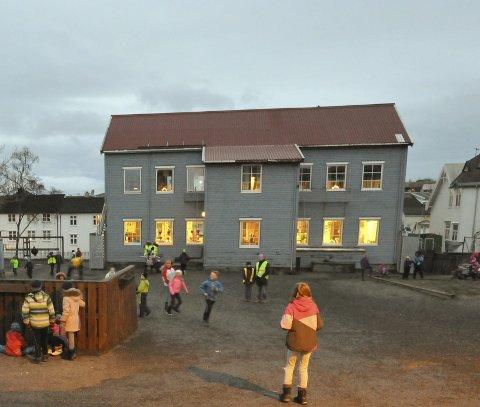 Mat: Kommunen bør ha et mål om mat i skolen mener FAU i Kabelvåg.
