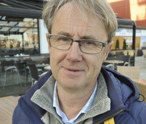 Utbygging: Dekningsdirektør Bjørn Amundsen i Telenor.