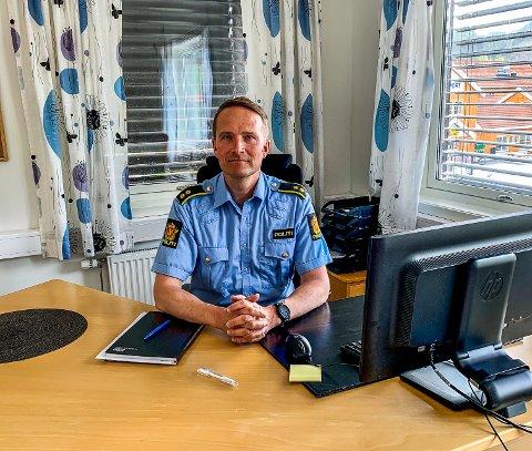 Seksjonsleder Forebyggende og Patrulje ved  Gauldal politistasjonsdistrikt,Ole Petter Ustad