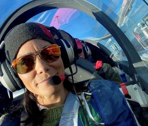 Mariann Brattland har vore medlem i Norges Luftsportforbund i over 20 år, og har vore visepresident dei siste seks åra.