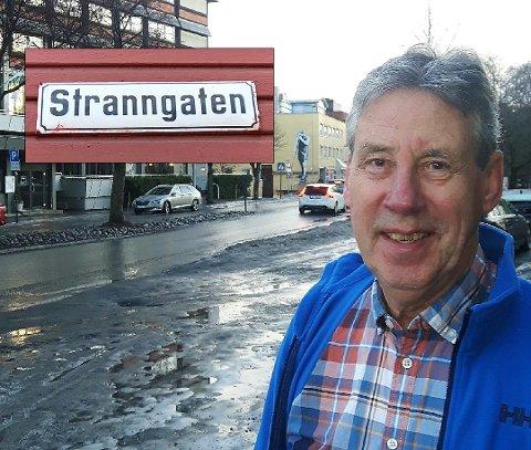KLARE MENINGER: Den 72 år gamle navnegeneralen har mange og klare meninger om valg av egnede gatenavn i Gjøvik.