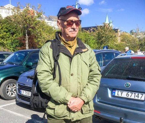 SOM DET VAR I GÅR: Mathias A. Gjone er en av de som fortsatt husker frigjøringsdagen i 1945. Det var en dag med sterke følelser, forteller Mathias til ØP.