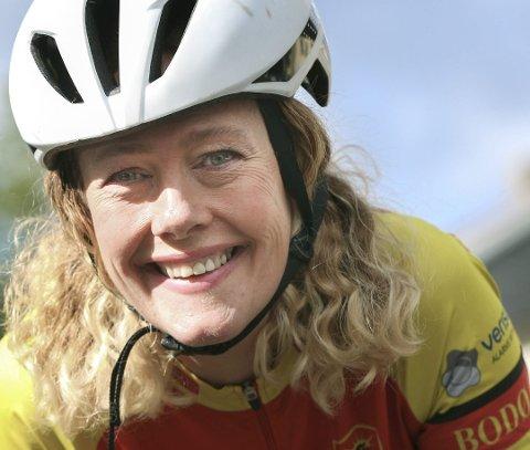 SYKLIST: Vanja Iren Pettersen har blitt ekstremt glad i å sykle og drar jevnlig til Mallorca på sykkelturer. Foto: Tom Melby