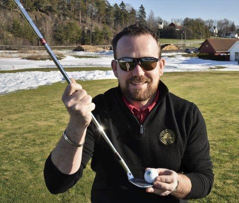 Fornøyd: Denne sesongen ble langt hyggeligere enn den forrige kan Logan J. Ferguson i Nøtterøy Golf konstatere.