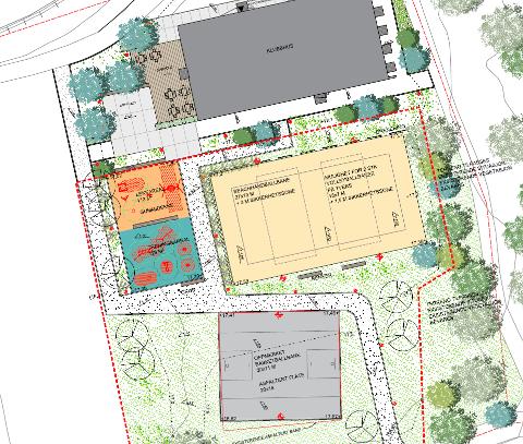 NYE BANER OG OPPGRADERINGER: Anlegget vil blant annet inkludere en sandbane for beachhåndball og sandvolleyball.