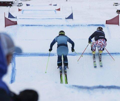 POPULÆRT: Skicrossløyper er i skuddet for tida. Det er ett av temaene som står på programmet når Norges Skiforbunds basisturné kommer innom Skillevollen til uka, som en av åtte steder i Norge.