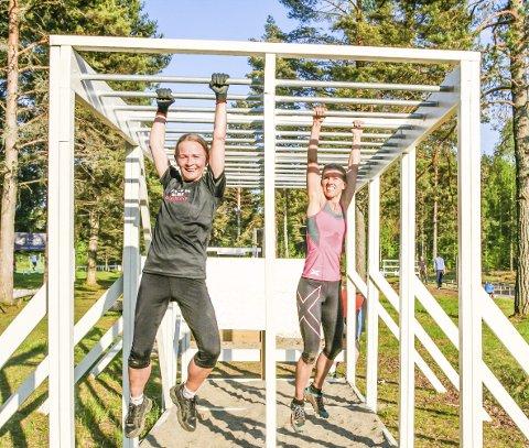 Allsidig trening: Her får man trent alle muskelgrupper, og man får utfordret seg på det mentale planet. Jorunn Toft og Kirsti Kringhaug er frelste Boot Campere.