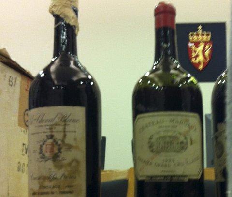 Helt KORKA: Retten må vurdere om det var korka å kjøpe denne vinen – eller om flaskene har korken i behold.